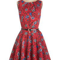 Luck Be a Lady Dress in Blossom | Mod Retro Vintage Dresses | ModCloth.com