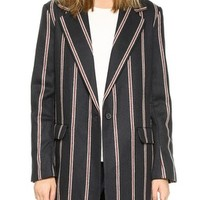 Iris Boyfriend Stripe Jacket