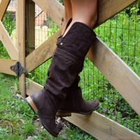 The One That Got Away Brown Equestrian Boots