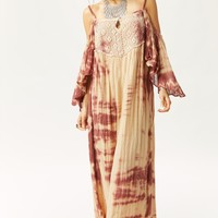 ROYAL PETUNIA MAXI DRESS