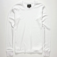 Shouthouse Solid Mens Thermal White  In Sizes