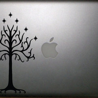 The Lord of the Rings Inspired Tree of Gondor13&quot; Macbook Decal  FREE SHIPPING