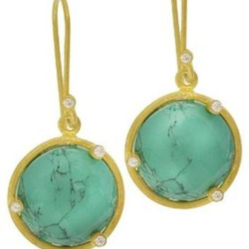 SKU Jewelry Turquoise Stone Earrings