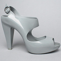 The Melissa Amazonas Shoe in Gray by Melissa Shoes