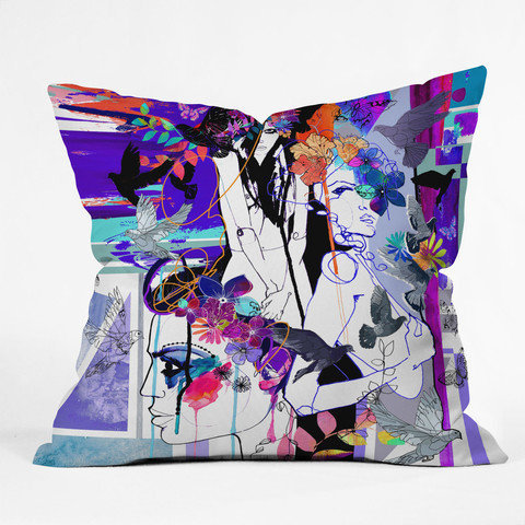DENY Designs Home Accessories | Holly Sharpe Fever Throw Pillow