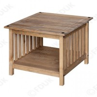 Core Products - Core Products Corona Rustic Pine Side Table
