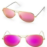 Ray-Ban New Aviator Mirrored Sunglasses