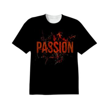 Grunge Style Passion and Lust All Over Printed T-Shirt created by Rudimencial Design | Print All Over Me