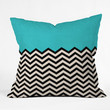 Follow The Sky  - Throw Pillow by Bianca Green | DENY Designs