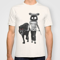 out for a walk T-shirt by Seamless