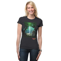 Master's Grove Fitted Ladies' Tee - Black,