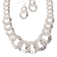 Tuari Necklace & Earring Set - bellafusion