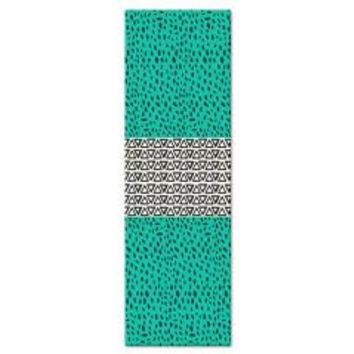 River Aqua Path Yoga Mat> Pom Graphic Design