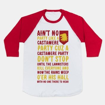 Ain't No Party Like a Castamere Party