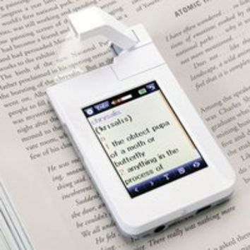 Point and Click Dictionary Scanner