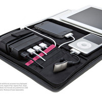 Portable Charging Station USB 2.0 Hub &amp; Case