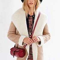 Ecote Drapey Sherpa Jacket - Urban Outfitters
