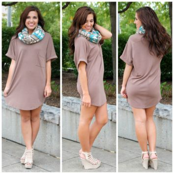 Lake Tahoe Dress - Mocha