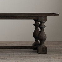 17th C. Monastery Rectangular Table | Restoration Hardware