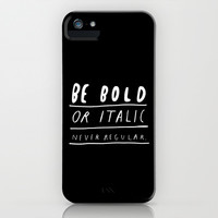 NEVER iPhone & iPod Case by WASTED RITA