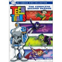 Teen Titans: The Complete Second Season [2 Discs] (DVD) (Eng/Fre/Spa)