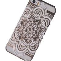 Acefast INC Plastic Case Cover for Iphone 5 5s 5c Henna Full Mandala Floral Dream Catcher (For iPhone 5 5S)