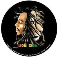 Bob Marley Buttons - Lion Of Zion