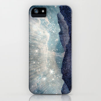 Northern lights iPhone & iPod Case by Prints Of Heart