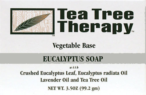 Eucalyptus Soap 3.5 oz, Tea Tree Therapy