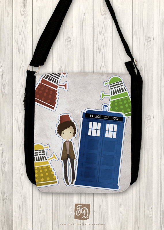 Doctor Who and the Daleks - Big shoulder bag
