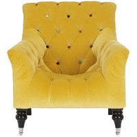 Buy John Lewis Mr Bright Chair, Gold Leaf online at JohnLewis.com