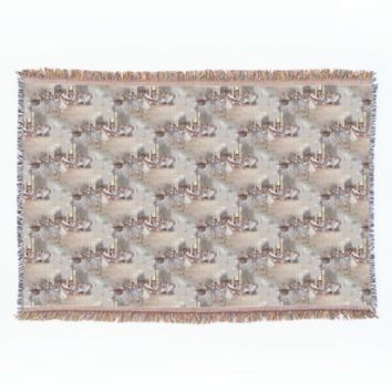 Dancers Ballet Rehearsal Art Throw Blanket