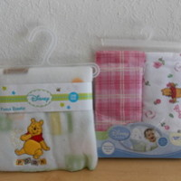 Disney Winnie the Pooh Baby Fleece and Receiving Blankets