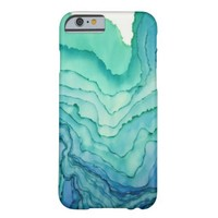 Turquoise Ripples iPhone 6 case