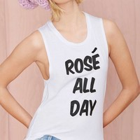 Nasty Gal x Private Party Rosé All Day Tank
