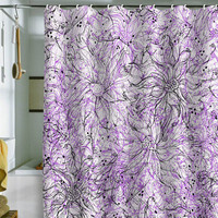 DENY Designs Home Accessories | Lisa Argyropoulos Angelica Purple Shower Curtain