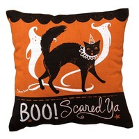 Primitives by Kathy 'BOO! Scared Ya' Accent Pillow