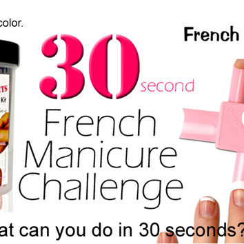 French Tip Dip French Manicure & Pedicure Kit + More