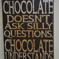 July4thJamboree Sale Chocolate Understands - Unique Canvas Art