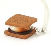 Gimme S'More - Smores Stud Necklaces - Whimsical & Unique Gift Ideas for the Coolest Gift Givers