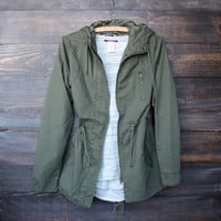 restocked army green olive green hooded utility parka jacket oversized retro hipster tumblr winter fall clothing must have essentials casual