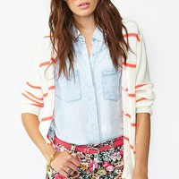Flower Patch Cutoff Shorts