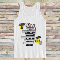 5 Second Of Summer Song for Tank Top Mens and Tank top Girls