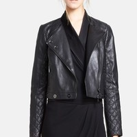 Haute Hippie Quilted Lambskin Leather Jacket | Nordstrom