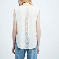 Kimchi Blue Lulu Tank in White - Urban Outfitters