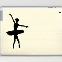 Ballerina  Laptop & iPad Skin by haleyivers | Society6