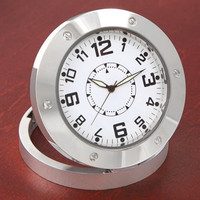 The Video Surveillance Clock - Hammacher Schlemmer