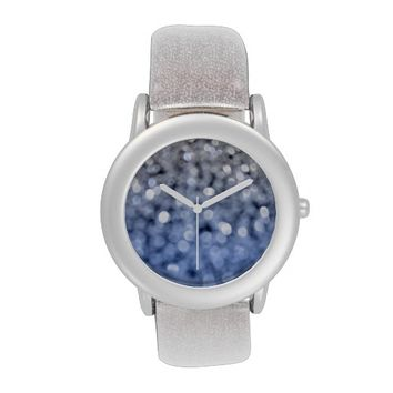 Sparks - Blue And Silver Wrist Watch