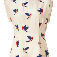 Marc by Marc Jacobs - Sandshell Multicolor Finch Flight Top