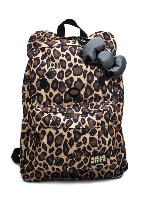 hello-kitty-leopard-backpack CAMELBLACK - GoJane.com